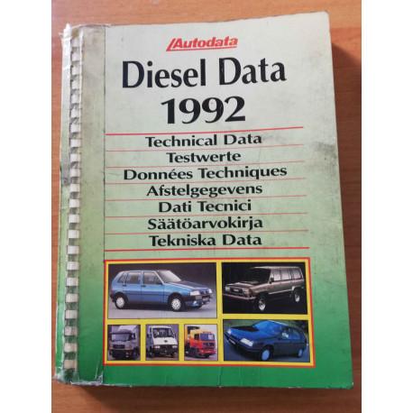 AUTODATA DIESEL DATA 1992