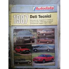 AUTODATA DATI TECNICI 1987