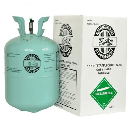 Bombola gas refrigerante R134 ricarica climatizzatori