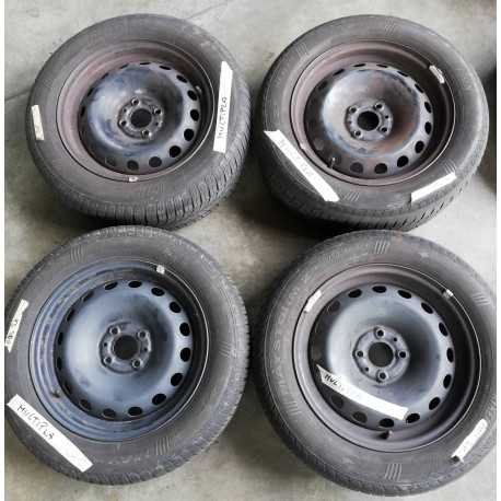 Kit cerchi acciaio Fiat Multipla + pneumatici