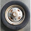 Cerchio acciaio per Fiat 126 con pneumatico