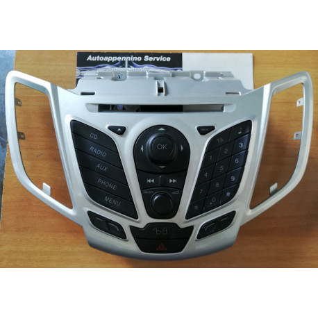 Pannello di comando radio Ford Fiesta, originale, 1524242