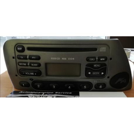 Sistema audio 6000 CD per Ford Ka, 1069532, usato