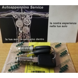 Coppia blocchetti maniglia porta Fiat 500, cod. 801224 Miraglio