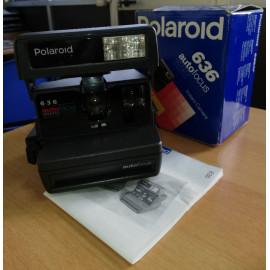 Polaroid 636 autofocus Instant camera, vintage