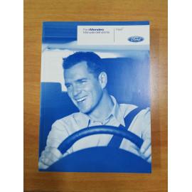 Manuale dell'utente Ford Mondeo, 8S7J-19A321-LA, originale