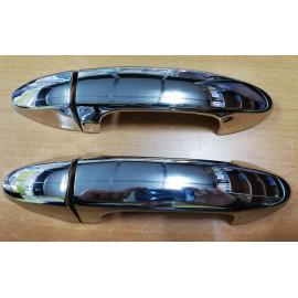 Kit 2 maniglie cromate per Ford Fiesta MK6, FKTGA01013, originali