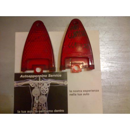 Plastica fanale posteriore rossa fiat 850t fiat 900t